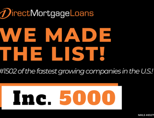 Direct Mortgage Loans Recognized: Inc. 5000 List