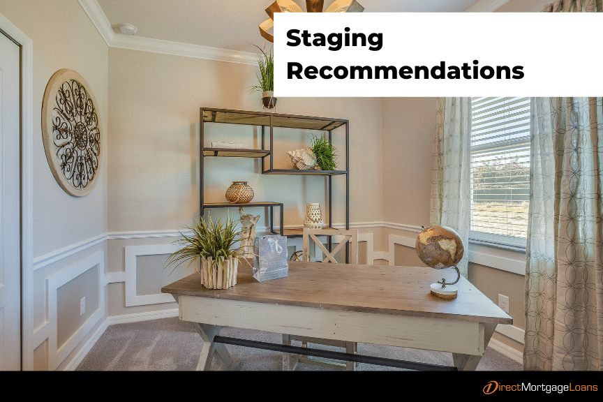 Staging Recommendations to Sell Your Home
